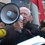 ВИДЕО: Протестен марш на борците низ Скопје