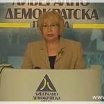 Жерновски: Роза за мене и за ЛДП е завршена тема