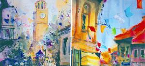 Врачување награди на членови од Детското ликовно студио  Св Кирил и Методиј  Битола