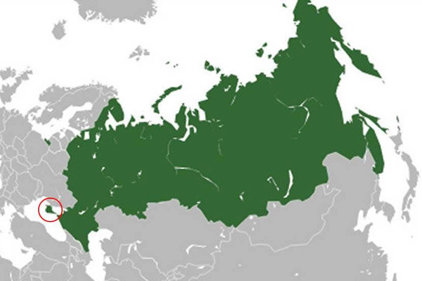 Krim Mapa