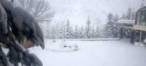 Висната на снежната покривка во Маврово изнесува 5 сантиметри