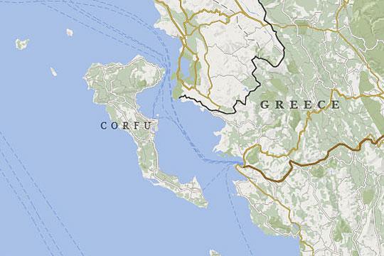 Krf Mapa