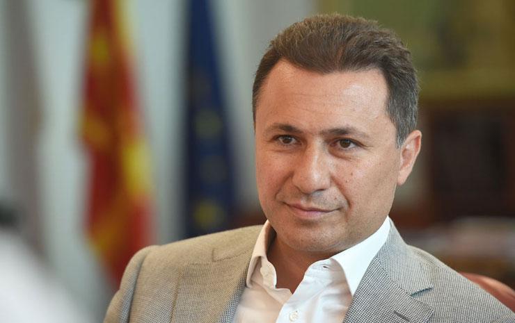 Груевски  Прифаќам да ме уапсат и затворат само Заев да се откаже од удирање по темелите на државата