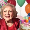 Бети Вајт 95  роденден го прослави на снимање