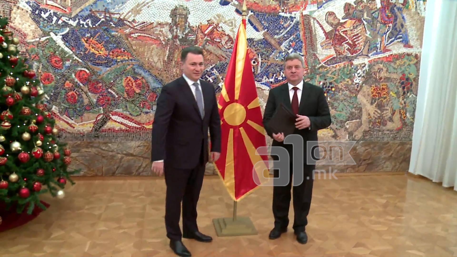 Груевски вечерва кај Иванов на тајна посета