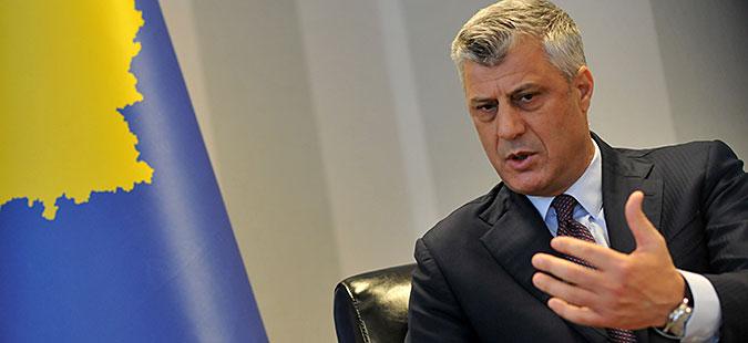 Тачи  Демаркацијата на границата е само косовско прашање  треба да се усвои