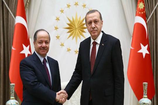 Ердоган оствари средба со претседателот на Ирачки Курдистан