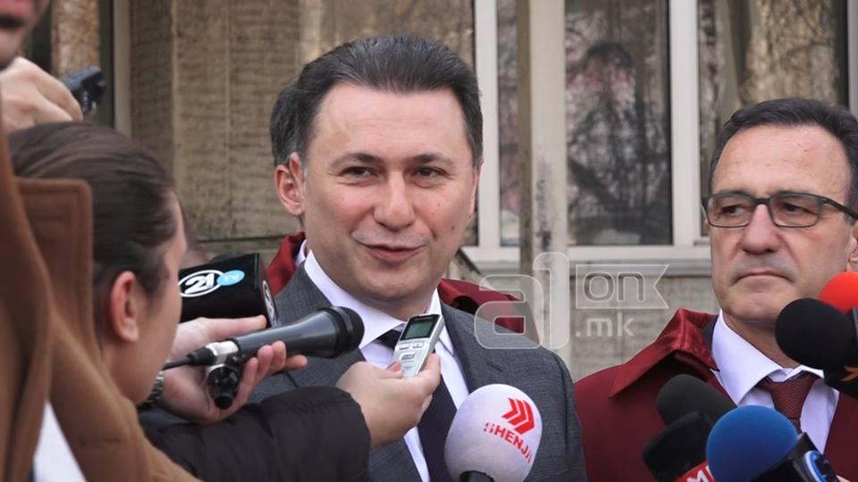 СДСМ  Лагите на Груевски за редефинирање и федерализација се страв од соочување со правдата