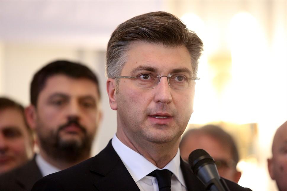 Пленковиќ на средба со лидерите на партиите поради кризата во односите со Словенија