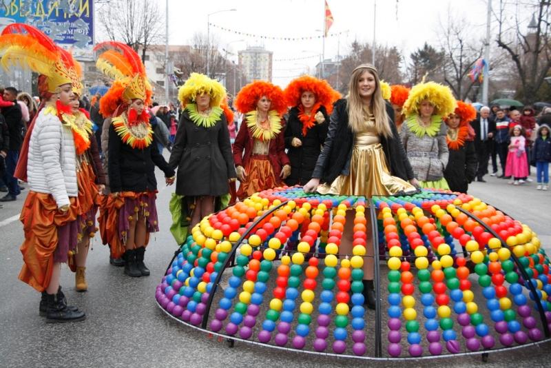 Преку 1 000 маски на карневалот  Прочка  во Прилеп