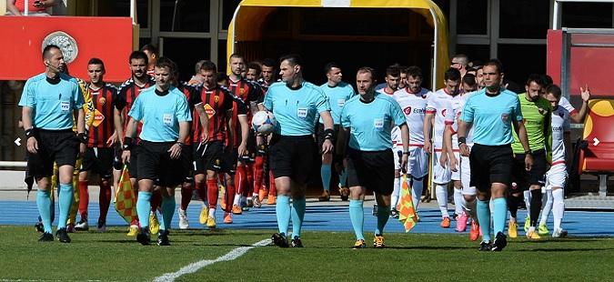 Променет терминот за одигрување на деветтото коло од Првата фудбалска лига
