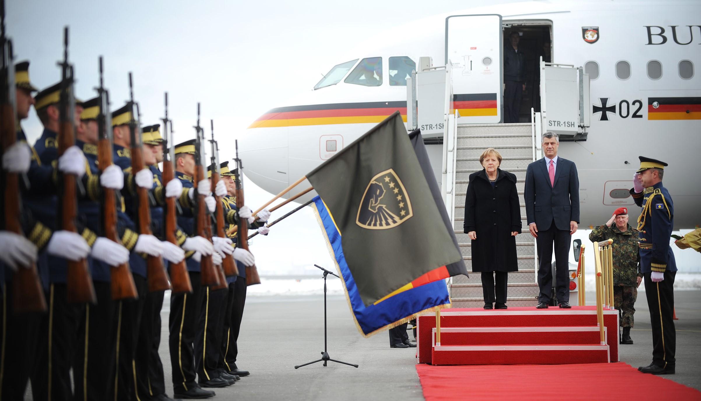 Германија е разочарана од иницијативата на Тачи за формирање на војска