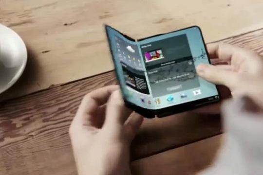 Самсунг  би можел годинава да промовира паметен телефон на преклопување