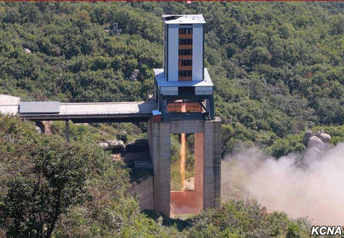 Северна Кореја изврши проба на нов ракетен мотор