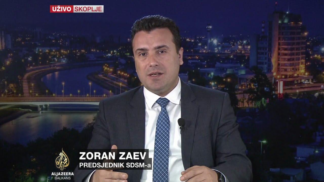 Заев  Неприфатливо е Груевски  носител на режим  да биде решение за кризата