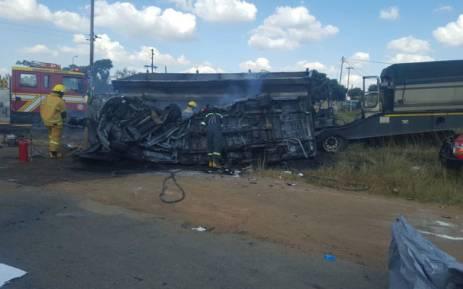 Јоханесбург  Во сообраќајна несреќа загинаа 20 деца
