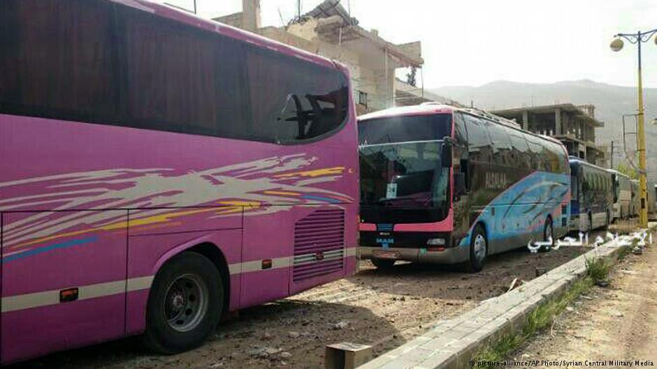 Сирија  Завршена евакуацијата на цивилите од четири града