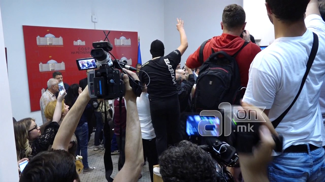 Движењето БЕСА го осудува насилството и го поддржува изборот на Џафери за спикер