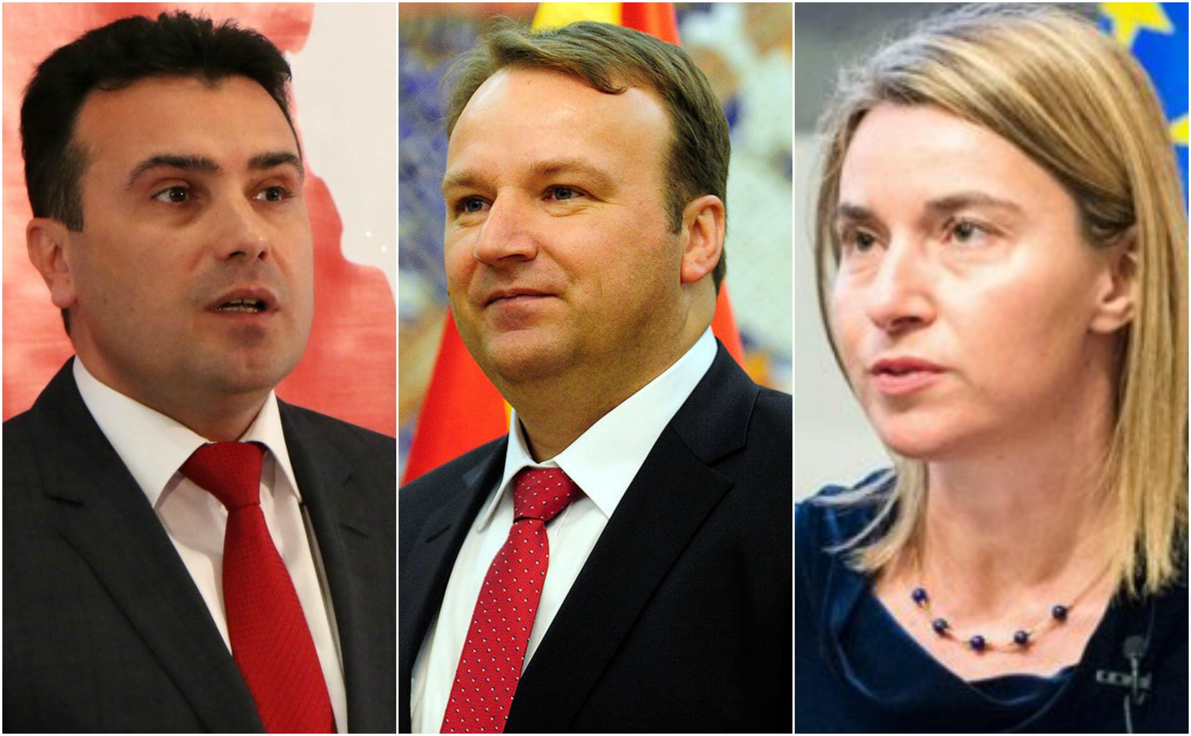 Премиерите од Западен Балкан кај Могерини  Заев или Димитриев ќе патува во име на Македонија