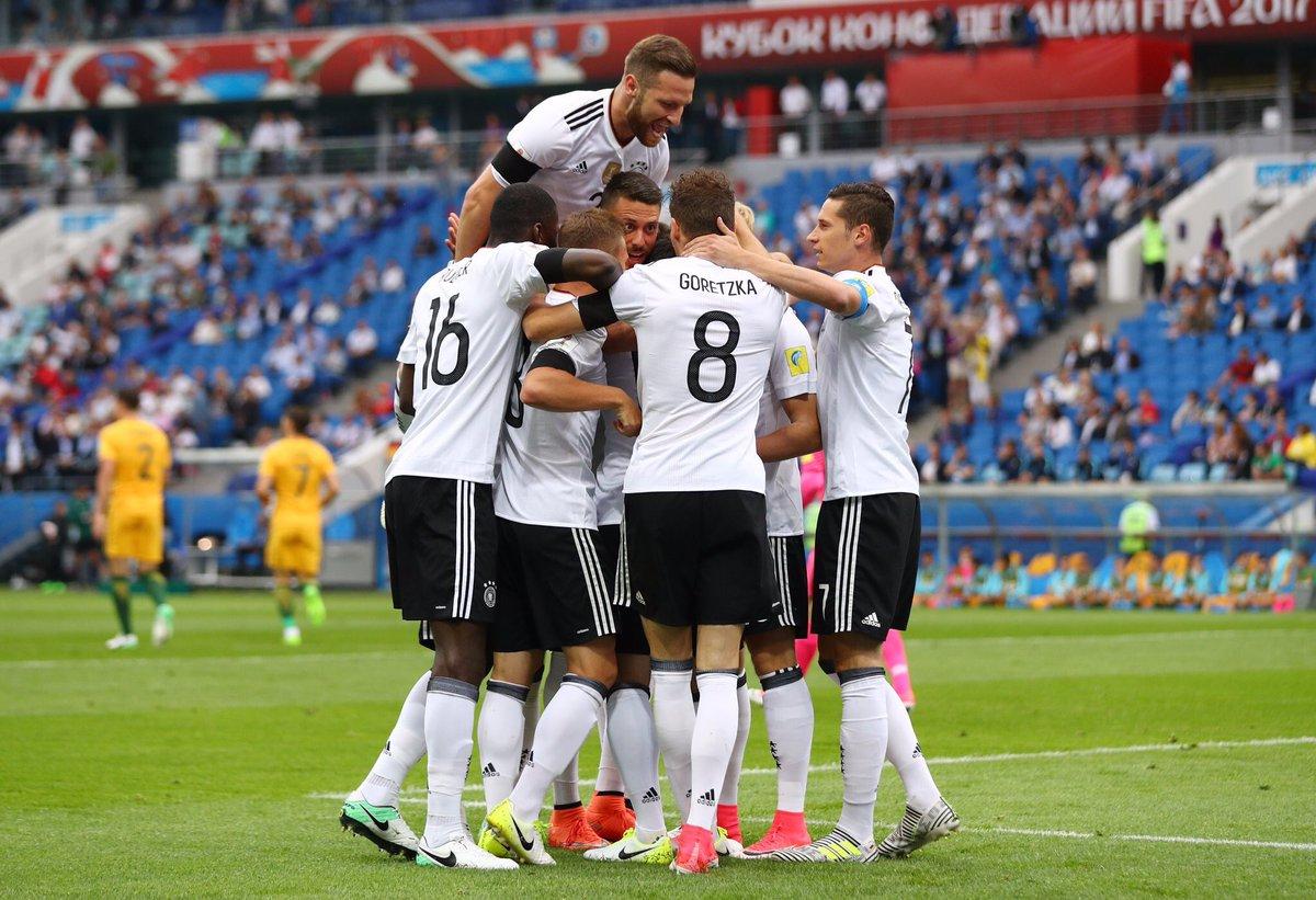 Победа на Германија над Австралија на Купот на Конфедерации