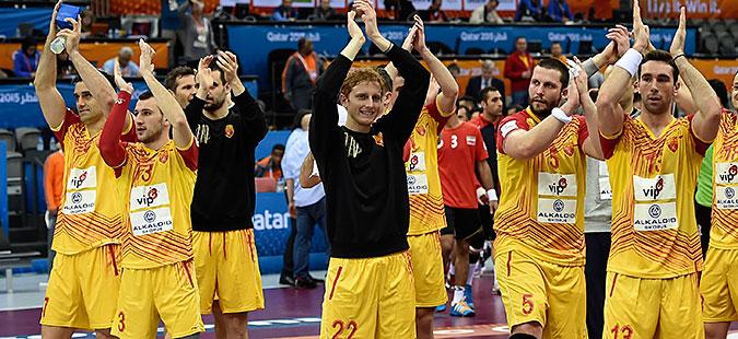 Македонија во вториот  шешир  со Данска  Белорусија и Шведска