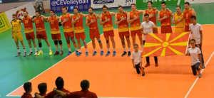Македонските одбојкари триумфираа против Косово