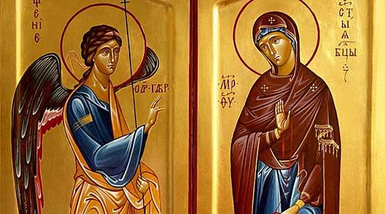 Собор на Свети Архангел Гаврил, Гласникот на Бога