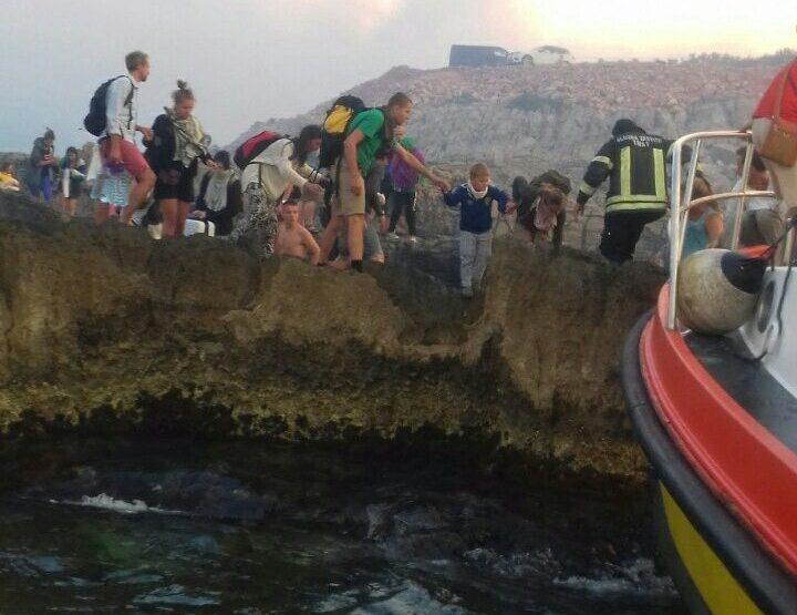 Поради голем пожар евакуација на населението во Тиват