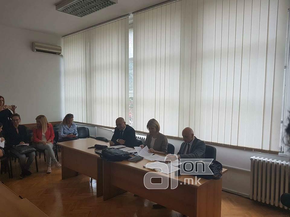 Ристоска  Во компјутерот на Грујевски пронајдени се упатства за однесување пред обвинителите на СЈО