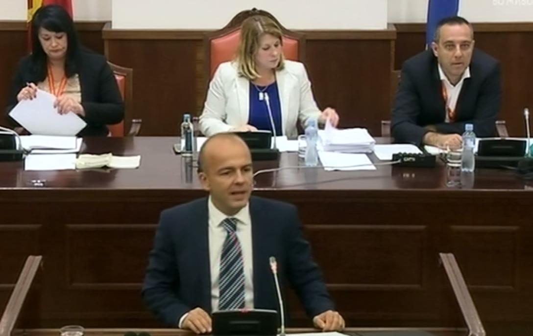 Тевдовски  Со ребалансот сериозно кратење на сите непродуктивни трошоци