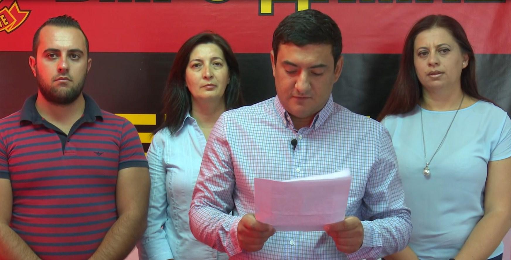 ВМРО ДПМНЕ Неготино  Со усвојување на стратегијата бегалци се доведува во опасност безбедносната ситуација