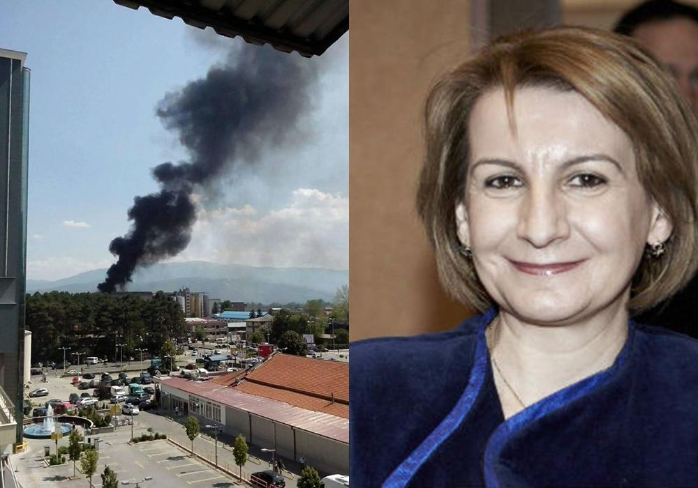 Гори депонија во Тетово  Арифи не знае дали може да се справи со пожарот