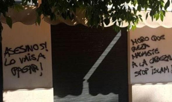 Шпански националисти ја нападнаа главната џамија во Гранада