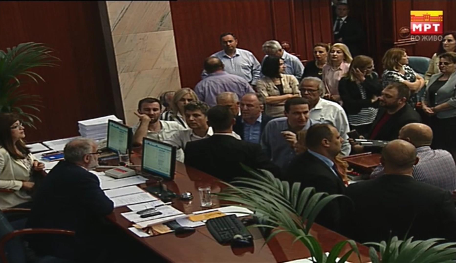 Инцидент во Собранието