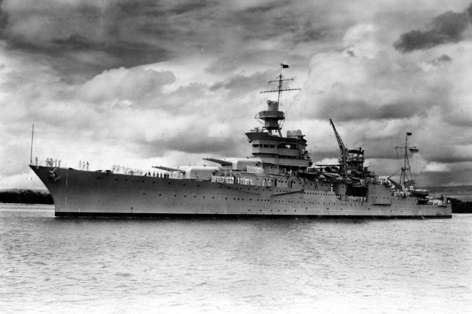 Изгубениот американски воен брод од Втората светска војна пронајден по 72 години