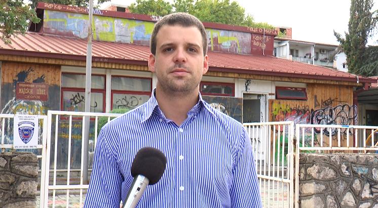 Богоев  По победата  локалната власт од СДСМ ќе ги реконструира руинираните градинки во Карпош