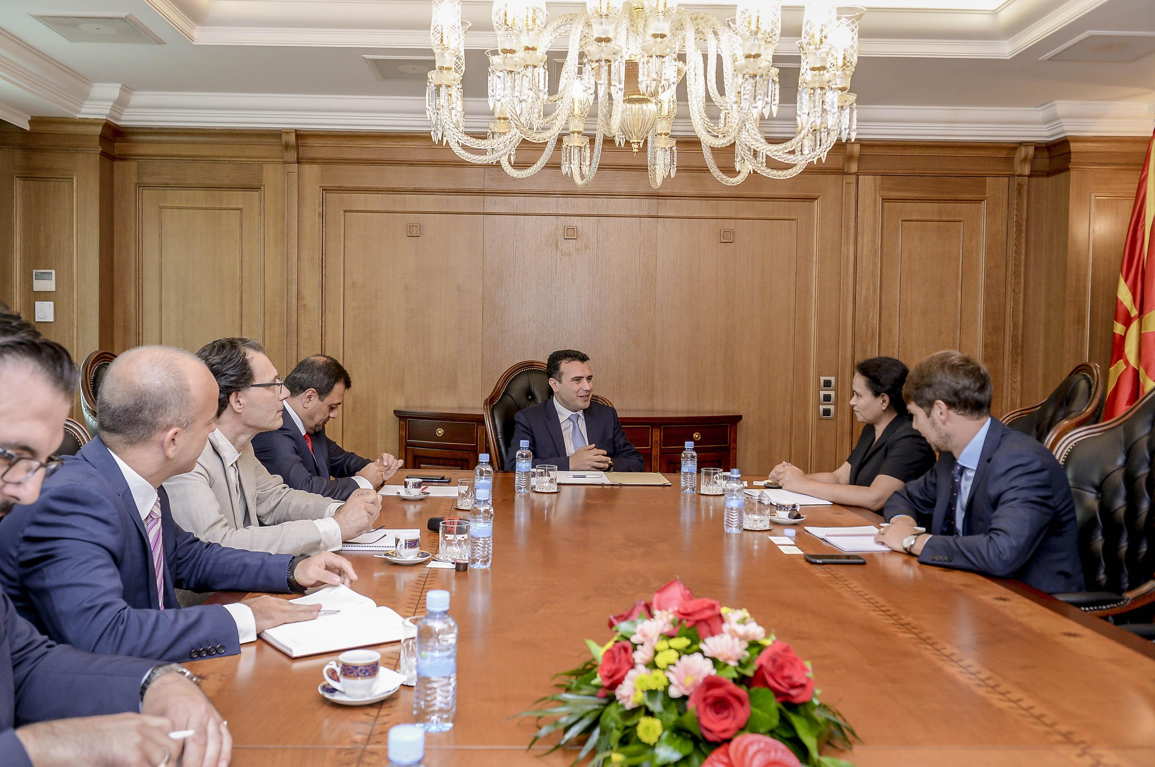 Средба Заев Рахман  Создаваме услови за економски развој низ одржлива финансиска стабилност на државата