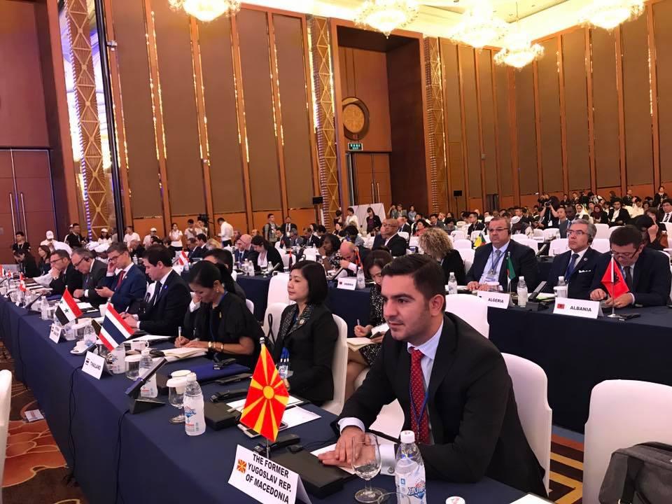 Министерот Бектеши на Генерално собрание на UNWTO во Кина