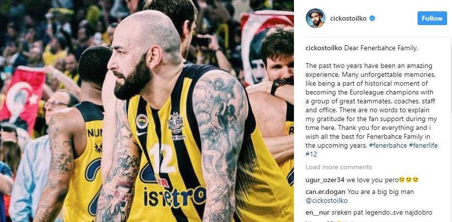 Емотивна порака од Антиќ до навивачите на Фенербахче