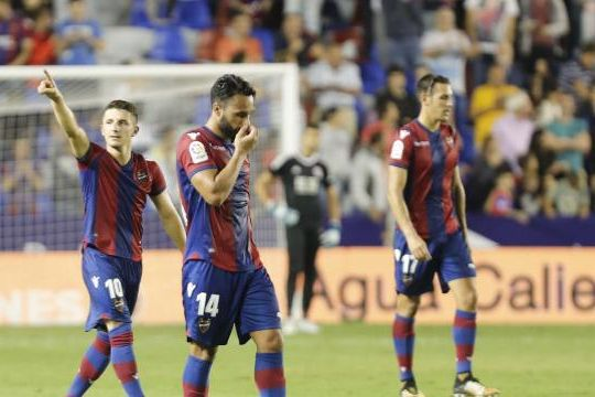 Барди повторно стрелец за Леванте во триумфот над Реал Сосиедад