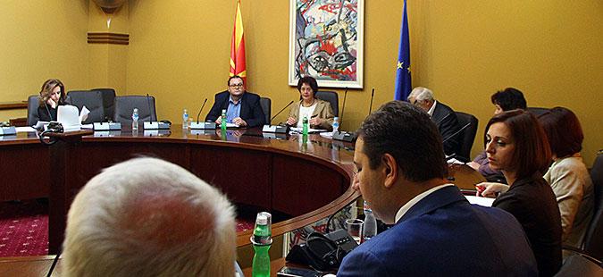 Комисијата за култура ги усвои измените на Законот за употреба на македонскиот јазик во прво читање