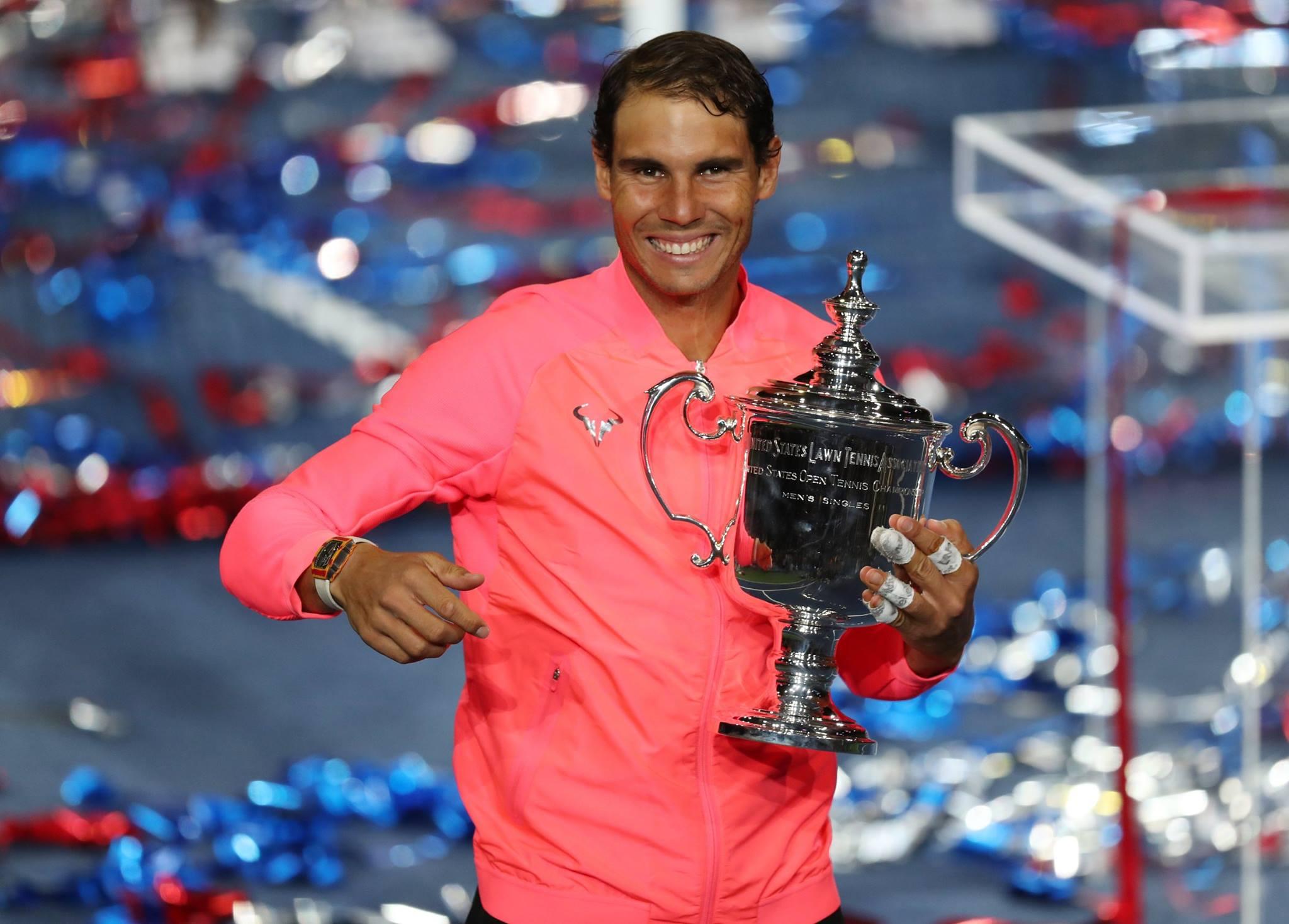 Надал  Освојувањето на трофејот ми дава голема енергија
