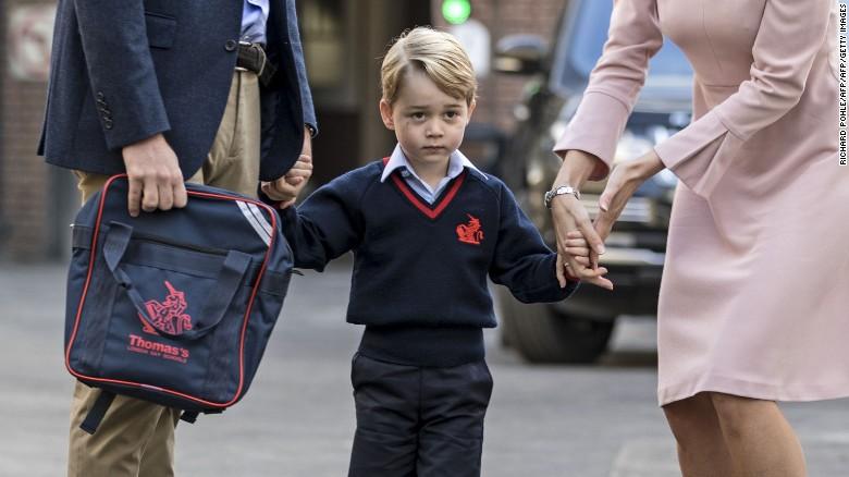 Безбедносна тревога во училиштето на принцот Џорџ