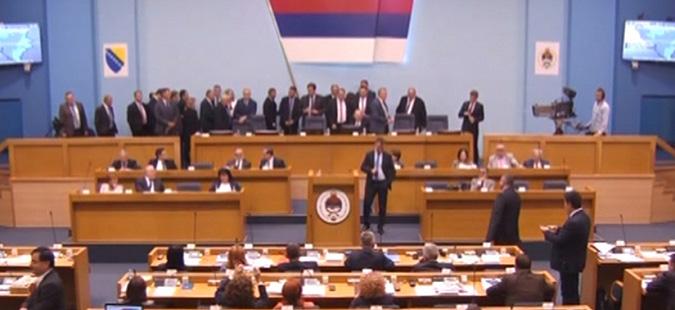 Опозицијата го блокираше Собранието на Република Српска