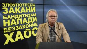Јовановски  СДС преку полицијата врши терор врз граѓаните на Македонија