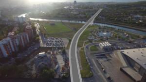 Трајановски  Ново сообраќајно поврзување за Аеродром преку изградба на нов мост на реката Вардар