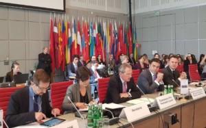 Димитров се обрати пред постојаните претставници на земјите учеснички во ОБСЕ