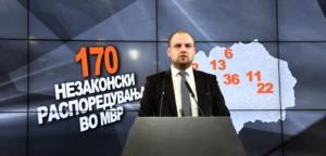 Стефаноски  За само 5 месеци  Спасовски направи 250 незаконски распоредувања во МВР