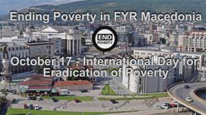 Видео пораки по повод Светскиот ден на искоренување на сиромаштијата