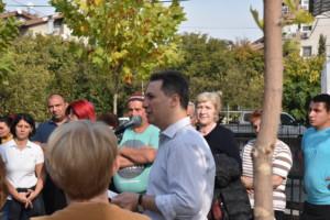 Никола Груевски и Тони Трајковски во посета на Хиподором